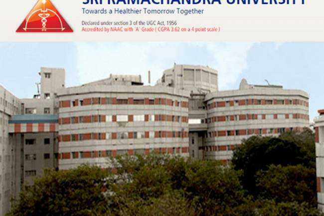 Direct Admission in Sri Ramachandra Medical College Chennai MBBS Admission 2019. call us @ 9372261584
