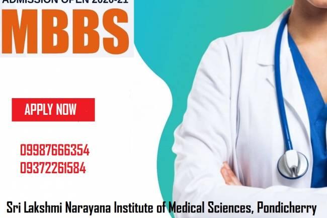 9372261584@Sri Lakshmi Narayana Institute of Medical Sciences Pondicherry MD MS Admission