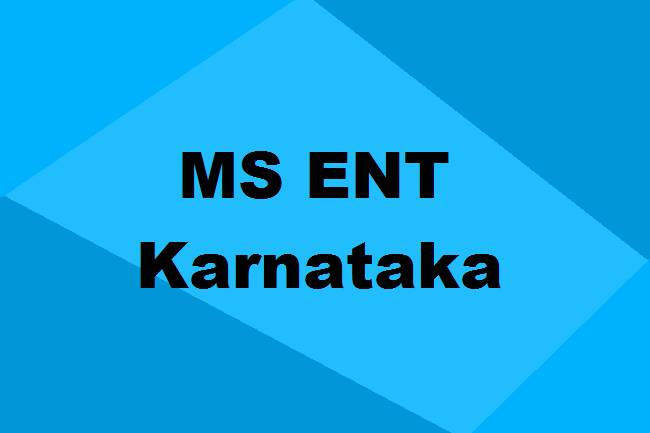 9372261584@MS ENT Colleges in Karnataka: Seats, Admission, Affiliation & Details