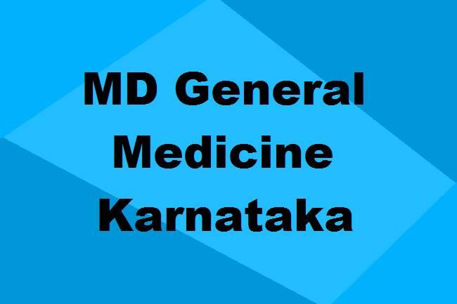 9372261584@MD General Medicine Colleges in Karnataka: Seats, Admission & Details