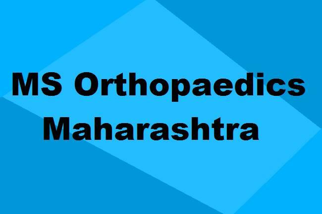 9372261584@MS Orthopaedics Colleges in Maharashtra: Seats, Admission & Details