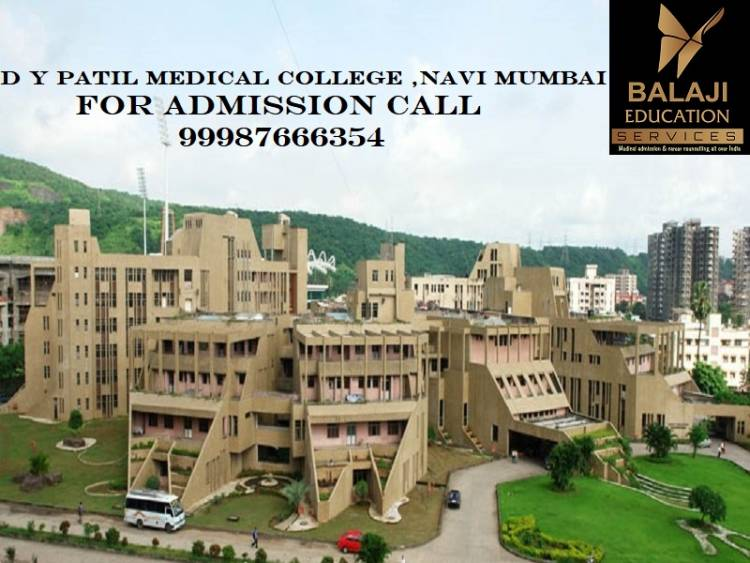 Dr. D Y Patil Medical College  Navi Mumbai Admission Cut Off-Fees Structure-Ranking. Call us @9987666354