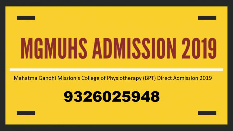 Mahatma Gandhi Mission College of Physiotherapy : Admission-Fees Structure-Cutoff