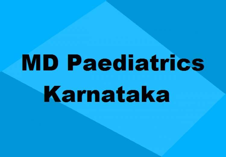9372261584@MD Paediatrics Colleges in Karnataka: Seats, Admission & Details